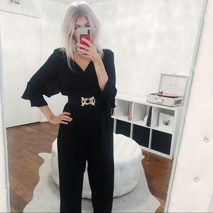 Gold Zara waist belt